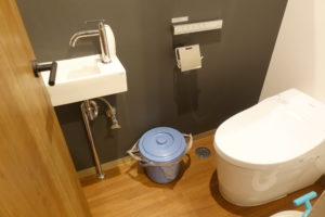 我が家のトイレ オムツゴミ箱